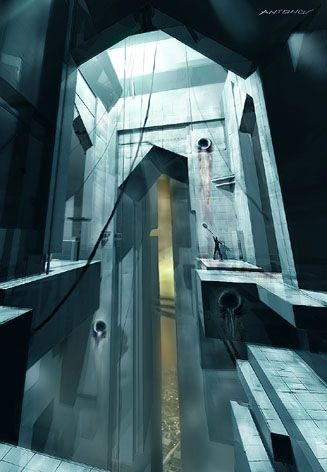 The beta citadel's interior looks so much like liminal spaces.