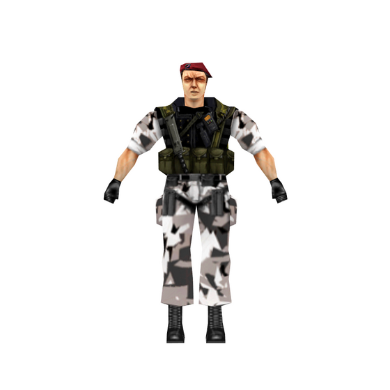 Why did the commanders of the HECU wear berets, when it is a Marine Corps Unit?  (SPECULATION) - Valve and Gearbox didn't think ahead at the time.  Because the HECU is part of the Special Operations Command, they conduct joint operations with other branches of the military. It was already evident with the support of Army Apaches and Armored Vehicles that typically belong to Army units. The Medic or Corpsman (also called a SARC in MARSOC), belongs to the Navy since the Marines do not have a dedicated medic of sorts.  Berets are typically worn by the Army and it is likely the Commanders were Army Officers that in charge of squads, as there are no restrictions in the US Military that bars different branch superior officers from commanding other troops like US Marines.   It is also likely they could've been Air Force seeing that the USAF are involved in intelligence and know about strategic ground objectives and layout, keeping it a secret from the Marines due to the classified nature of the mission.  There are no explanations officially to outline this, but there were a lot of players in assault on Black Mesa.