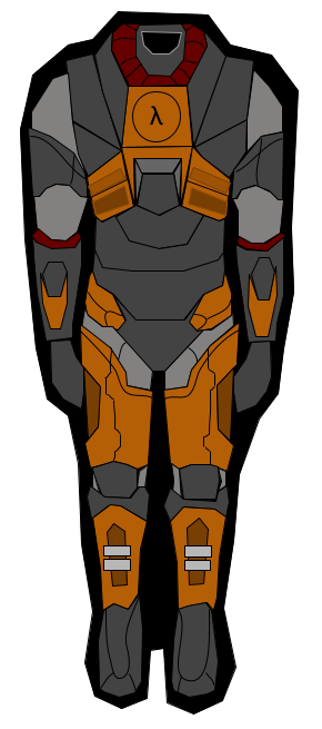 H.E.V. Suit made in google drawing :). This took me 5 hours to make.