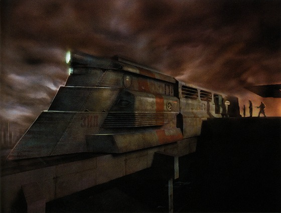 I absolutely love the razor train in every version of Half Life 2.