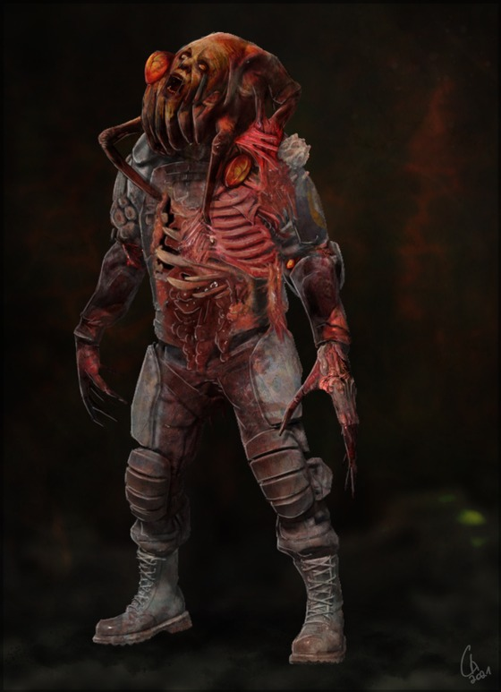 """Mutated Zombine for the Mod """"Half-Life : Radiated"""" i need to make more variants, maybe with more """"explosiv/corosiv"""" boil"""