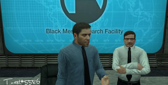 """Freeman. You're late. Again."" Feedback is always welcome! :3"