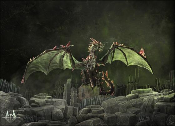 """""""Xeno-Cyreptosaure""""   Concept Art for the Mod """"Half-Life : Through The City""""."""