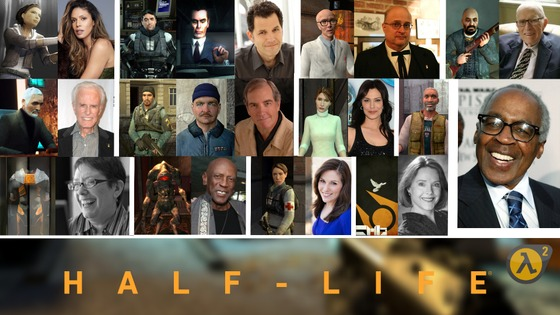 The voices of Half-Life 2