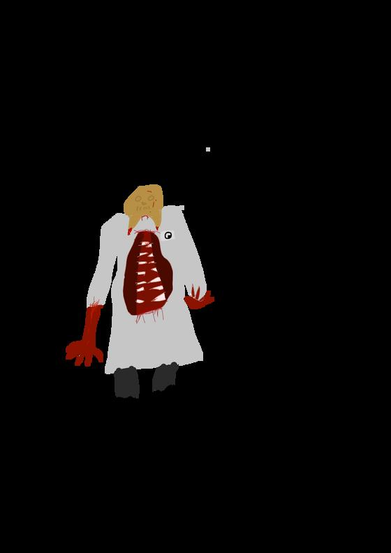 shitty headcrab zombie, also hello