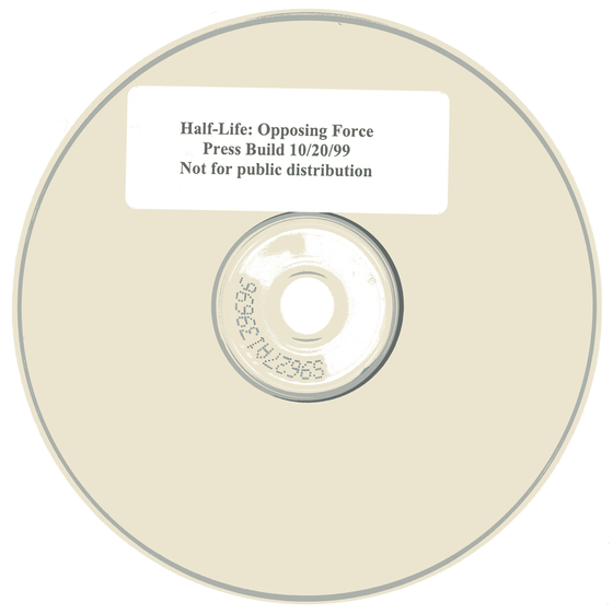 The bin/cue of the disc is now available, along with a nifty scan of the disc!  I've made the pre-packaged version more easy to setup, but we're still working on making a stripped down version of the HL assets (akin to the Opposing Force demo that released in 2000) so that it's just a plug and play experience. Keep your eyes pealed for that!  https://hiddenpalace.org/Half-Life:_Opposing_Force_(Oct_18,_1999_Press_Demo) https://archive.org/details/ofdemo-oct-18-1999