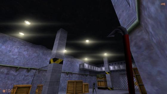 Black Mesa LensFlare in HL:S