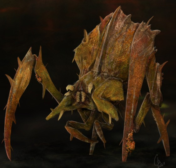"""Mutated Antlions, for the Mod """"Half-Life : Radiated"""""""