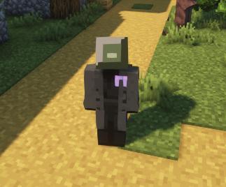 "My Minecraft skin's head is ""SteamOS"" inspired ;)"