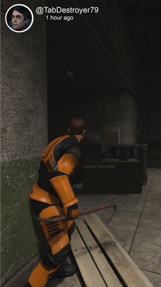 Half Life Snapchat part 12 is coming out this weekend. Keep an eye out :) Also it shall be a video.