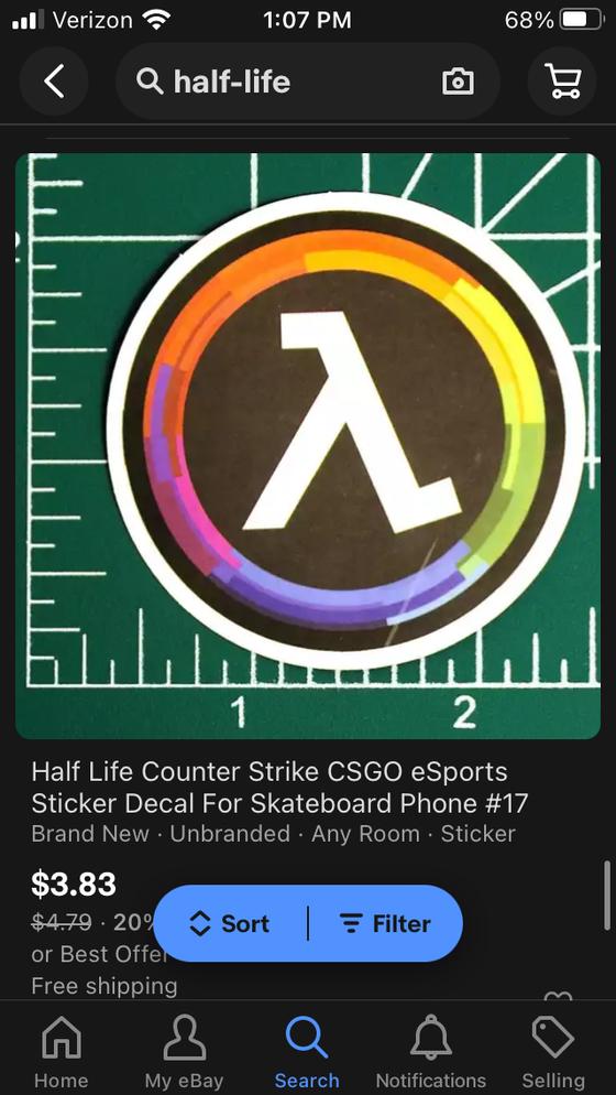 Go on, buy the bootleg Lambda Generation sticker. I dare you.