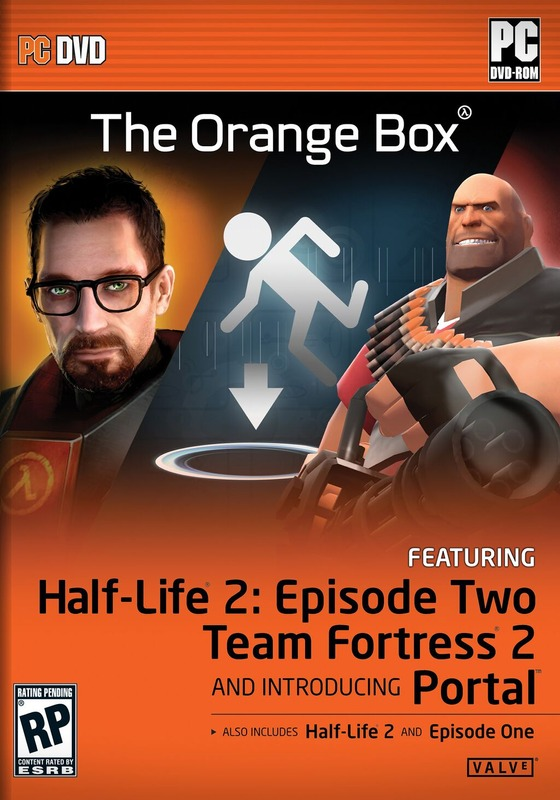 Happy 14th Birthday also to Team Fortress 2 and Portal - released October 10 2007 as part of The Orange Box.