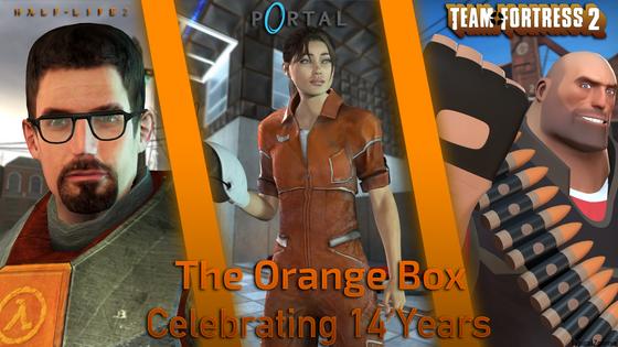 Happy Birthday Childhood. :)   #OrangeBox14Years