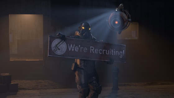 We're recruiting a Sound Designer to bolster development! Physical SFX (guns, etc) is a must; organics are a bonus! DM Kralloween/David#0901 on Discord with examples of your work, or join our Discord here: discord.gg/d52hWkR