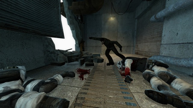 I just taught my 10 year old brother how to play Gmod, here are some of the things he did in the game.