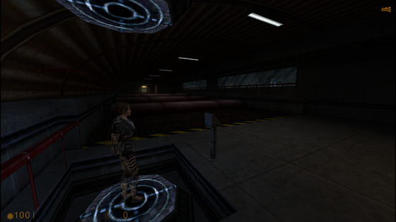 Hazard Course (WIP) Half-Life: Extended.... just search it on the ModDB will ya?  Also, the area looks dark. I already add more light into there, so that the area would not be that dark